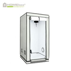 ГРОУБОКС HOMEBOX WHITE AMBIENT Q80, 80X 80XH180 СМ PAR +, GROWBOX